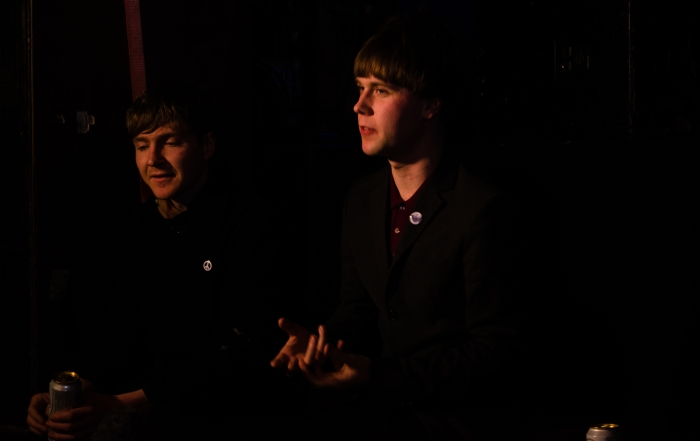 Oliver Brown and Fergal Kinney talking about the future of the Star & Garter.